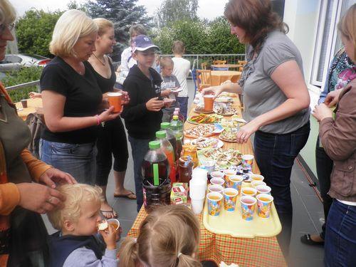 Organizační pomoc během Dětského dne