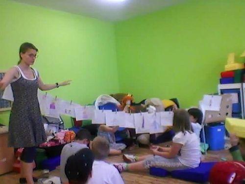 Hana Strejčková-Divadlo příběhů a její divadelní workshop