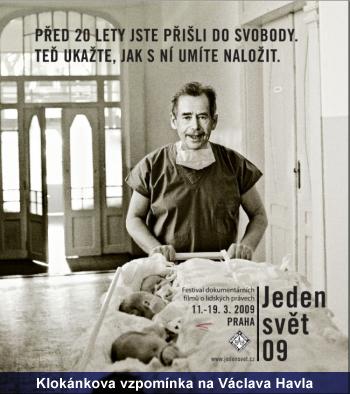 Klokánkova vzpomínka na Václava Havla
