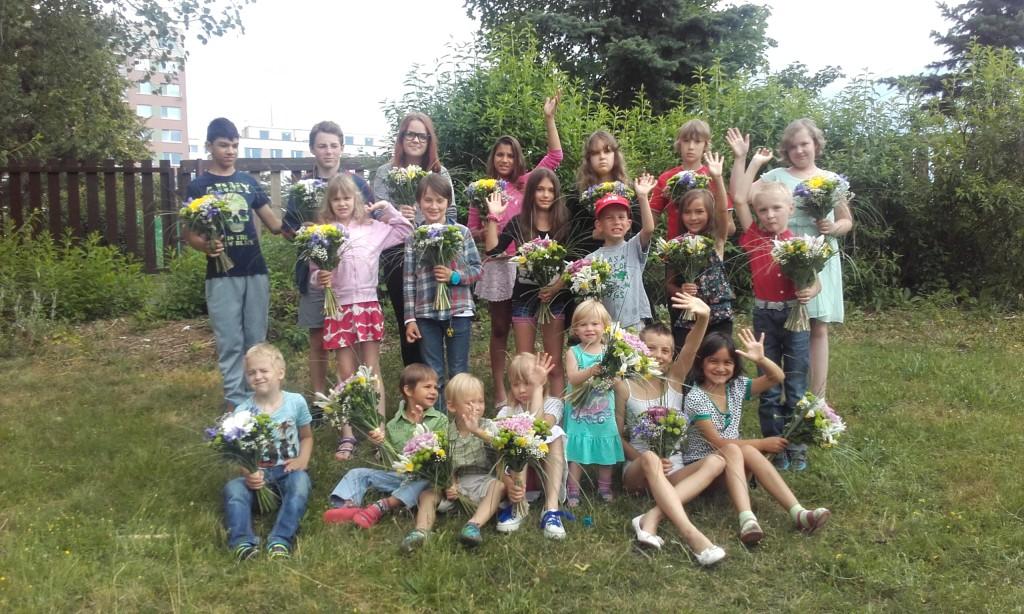 Úžasné květiny pro paní učitelky od Holandské květiny. Děkujeme.