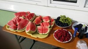 Za úžasné letní občerstvení děkujeme Dobré víle :D