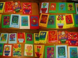 Dětské obrázky pro aukci