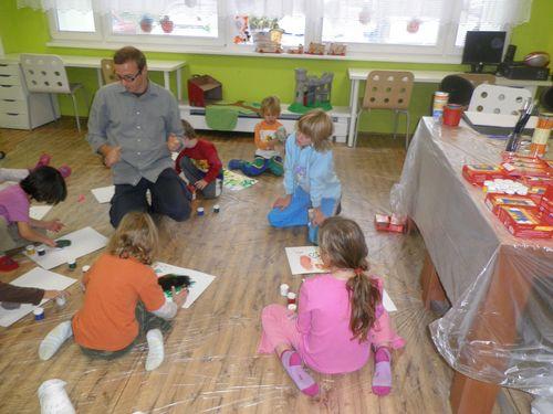 Výtvarný workshop s lektorem Chodovské tvrze Jiřím Reitermannem